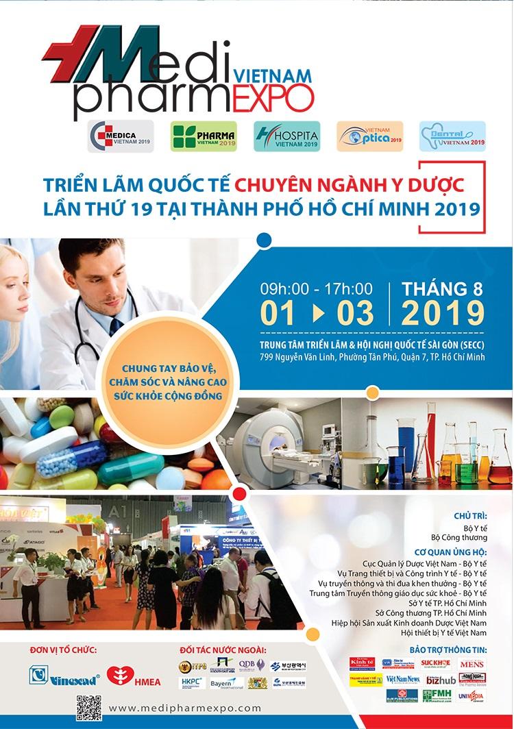 VIETNAM MEDI-PHARM EXPO 2019